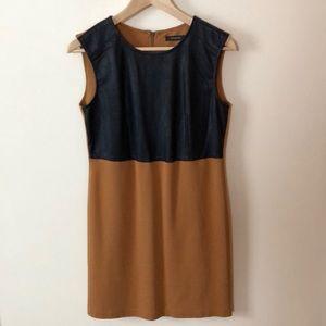 Mixed material dress